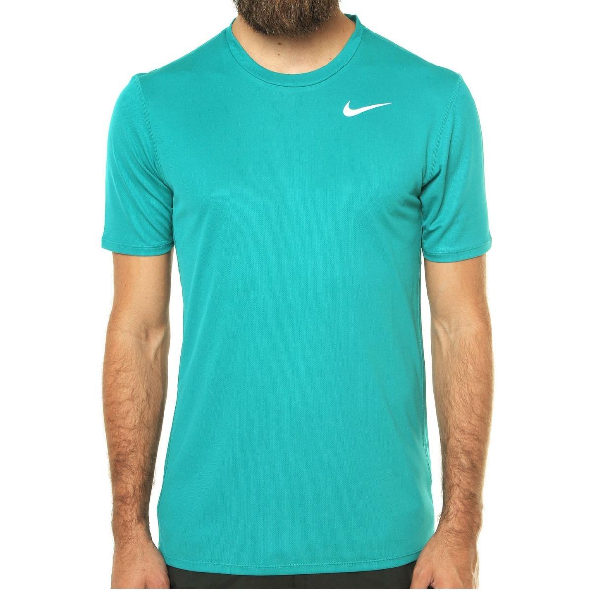 704ec4077d0b3 camiseta nike masculina dri-fit racer - azul claro. Carregando zoom.