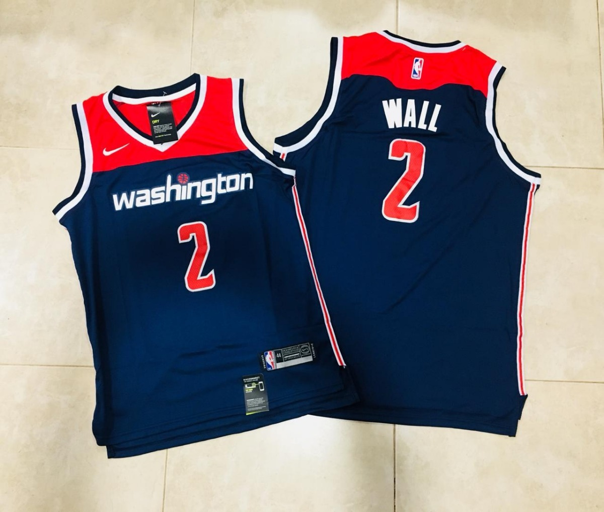 camiseta nike nba washington wizards john wall. Cargando zoom. 92667f3c6319e