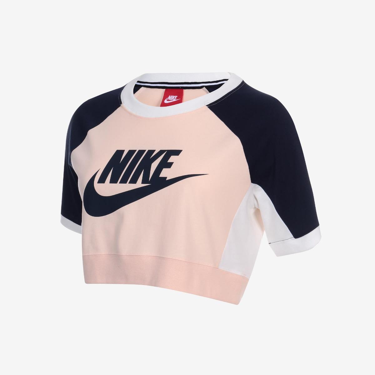 camiseta nike nsw crop feminina. Carregando zoom. e207407b3b7ab
