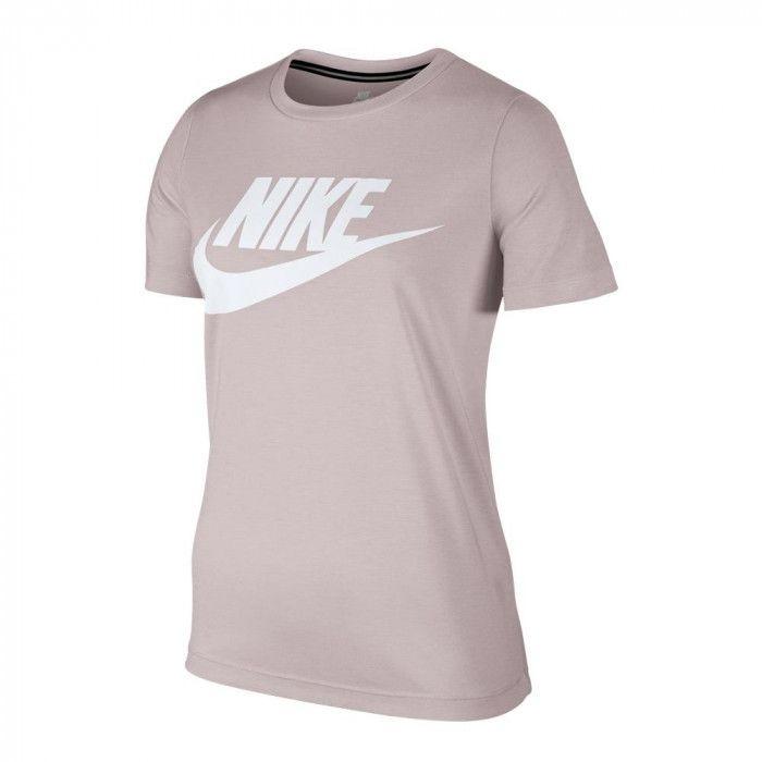 470b2c1a05760 Camiseta Nike Nsw Essentials Feminina - Rosa - R  139
