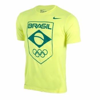 5f2f45046336b Camiseta Nike Olimpíadas Brasil Cob Legend Logo Masculino - R ...