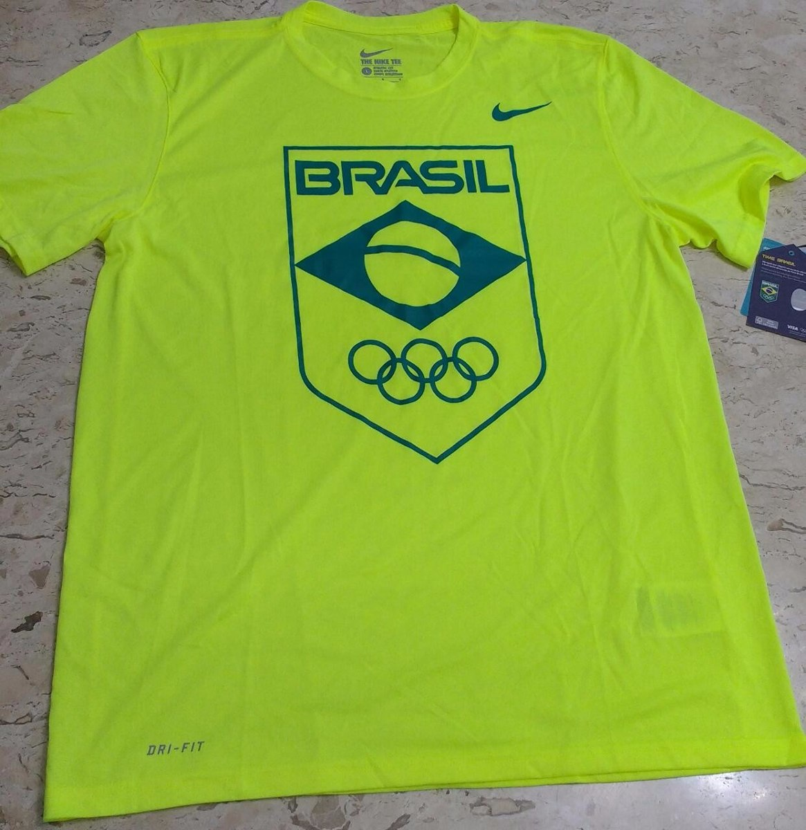 45de4189413e5 camiseta nike olimpíadas brasil cob legend logo masculino. Carregando zoom.