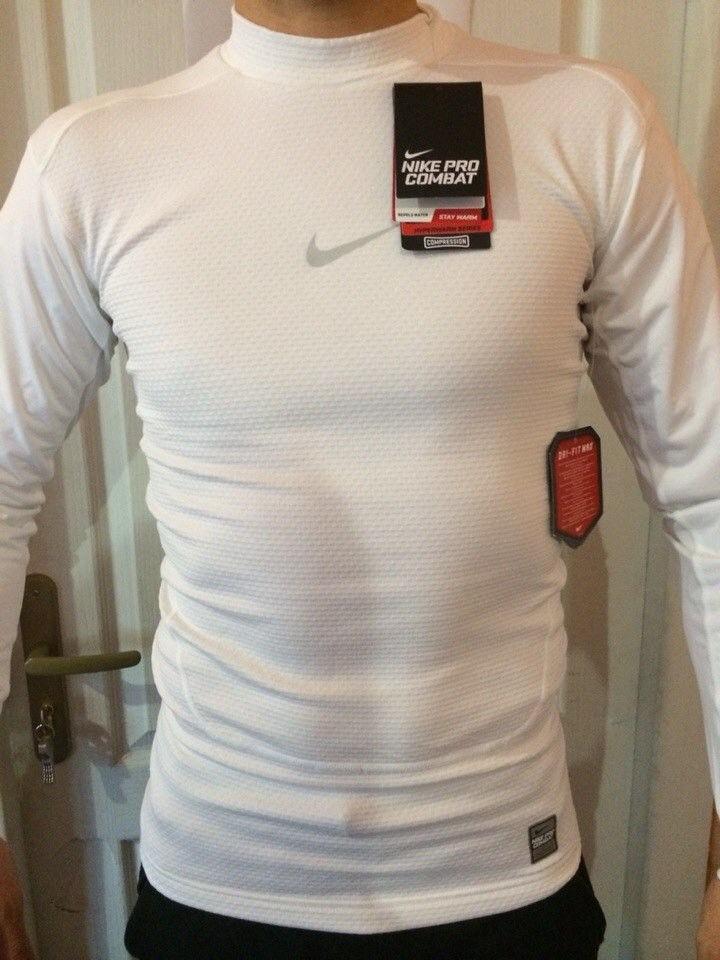 camiseta nike pro combat hyperwarm shield original v2mshop. Carregando zoom. 5923251ac1448