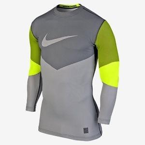 6909acb436e5c Camiseta Nike Pro Dri-fit Training Manga Larga Hombre Xl -   999.00 ...
