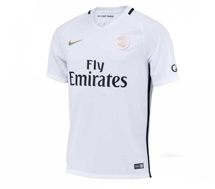 online store dce14 0679a Camiseta Nike Psg Third Jersey 2016-2017 Original