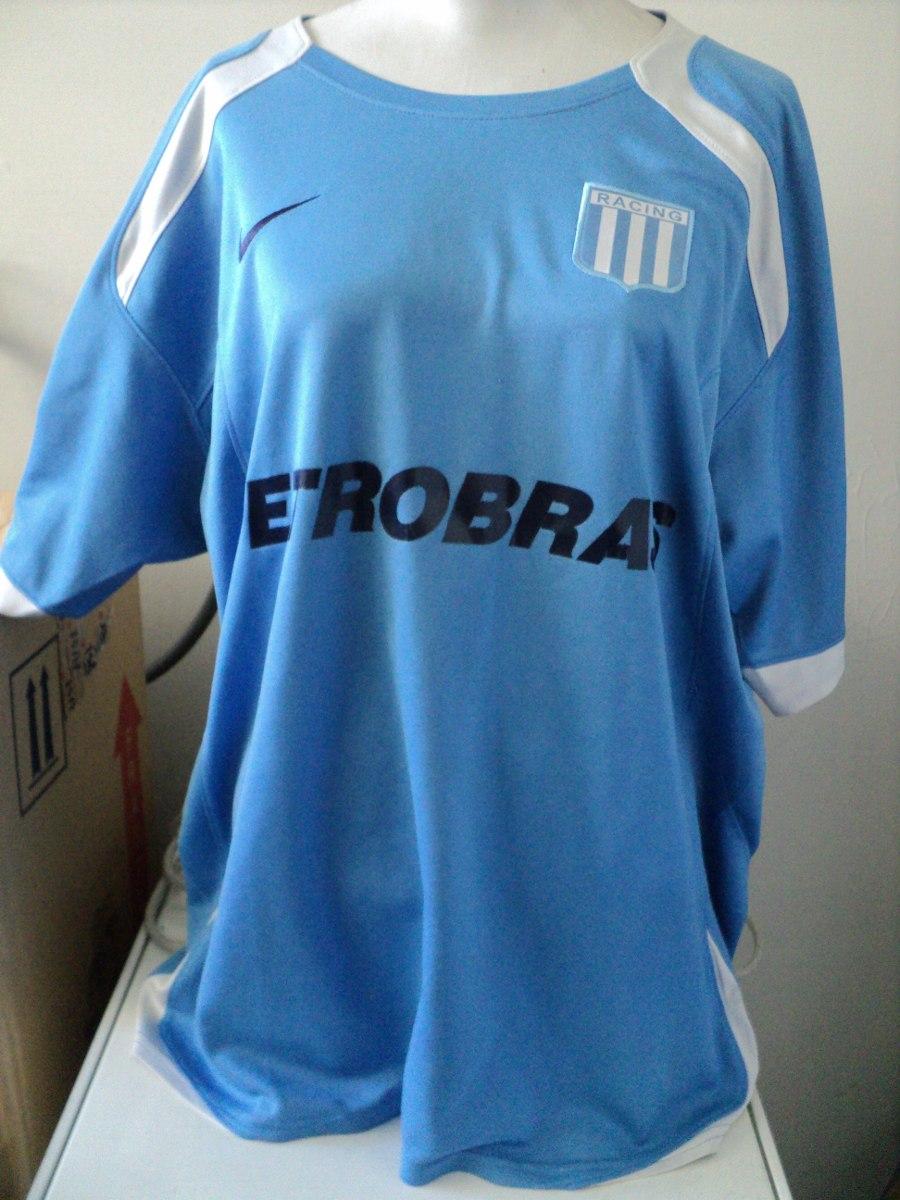 bcf2c386b3 Camiseta Nike Racing Club De Avellaneda Petrobras Large - $ 2.550,00 ...