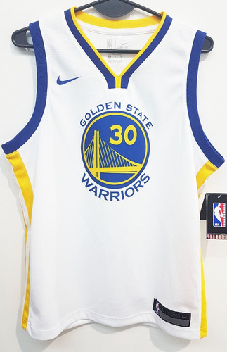 camiseta nike s. curry golden state talle l de niños