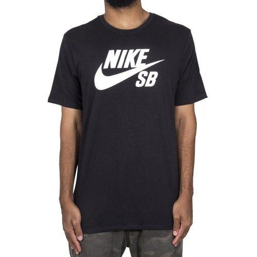 0aee9a88c7 Camiseta Nike Sb Logo Preta Original - R  109