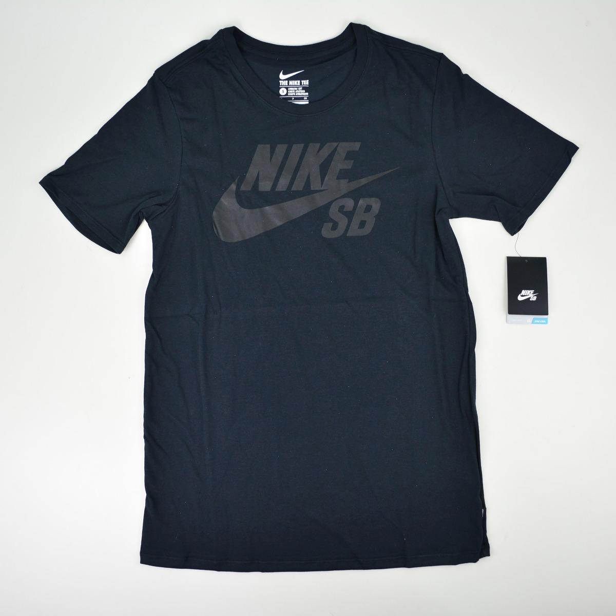 fa007396a54b camiseta nike sb logo preto. Carregando zoom.