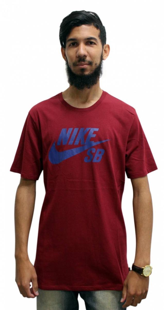 camiseta nike sb logo tee vermelho azul royal original. Carregando zoom. 4fb255cd6a1ed