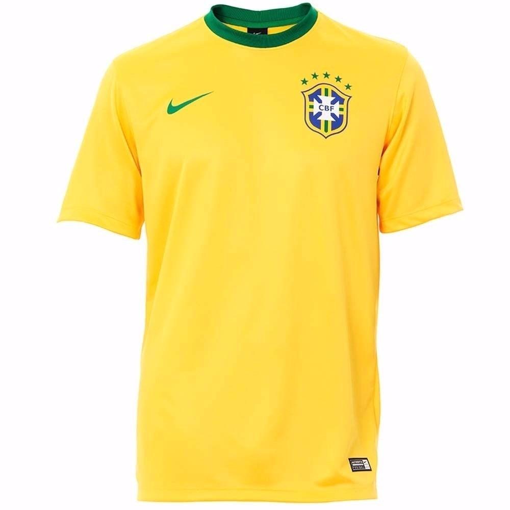 a25b52b841 camiseta nike seleção brasil 2014 - torcedor c  frete grátis. Carregando  zoom.