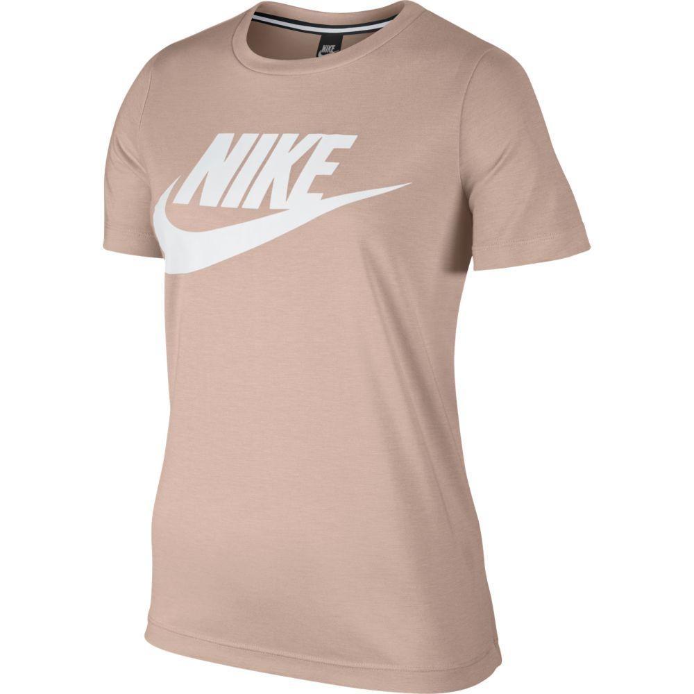 ... camiseta nike sportswear essential feminina 829747-838. Carregando zoom.  c8878d0b9d16b0 ... 09a6a3e3f68f1