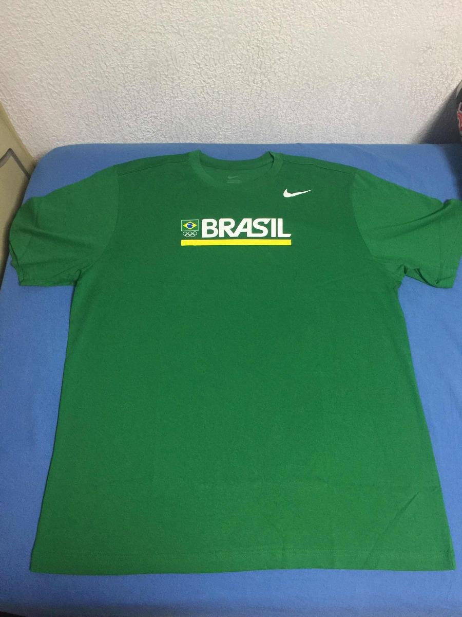 d8715ec0d36b3 camiseta nike time brasil olimpíadas. Carregando zoom.
