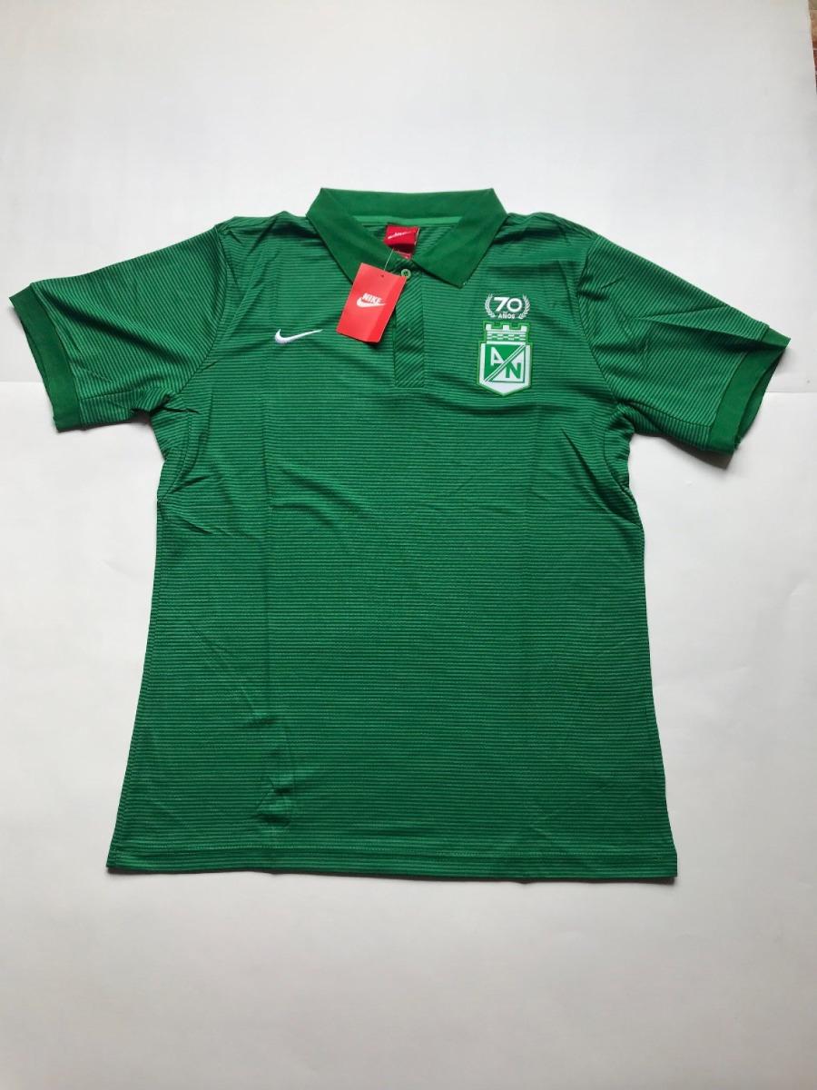 cb88270166f47 Camiseta Nike Tipo Polo Atlético Nacional -   45.000 en Mercado Libre