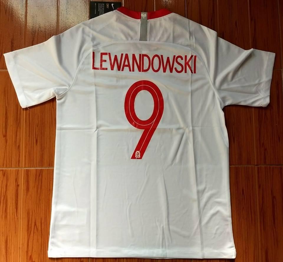camiseta nike titular polonia mundial 2018 lewandowski. Cargando zoom. 711199614eeb1