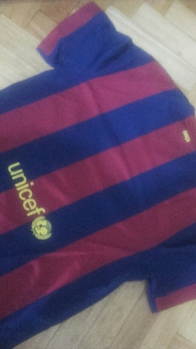 camiseta nike usada original nike xl del barcelona buenisima