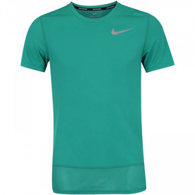 Nike Verde Atletismo 100Poliester Corrida Camiseta kZPiTOXu