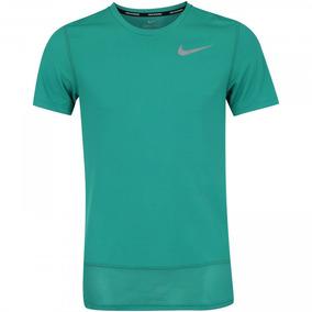 Atletismo Corrida Verde Camiseta Nike 100Poliester ulJFcTK31