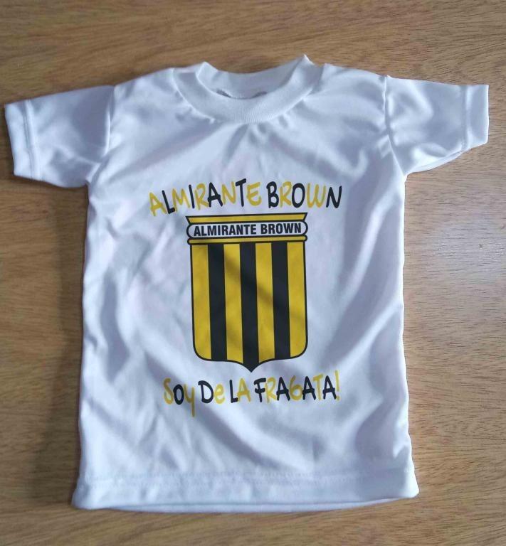 Camiseta Niño Futbol Almirante Brown Talles 4-16 Amplios -   270 a55c216f47eb6