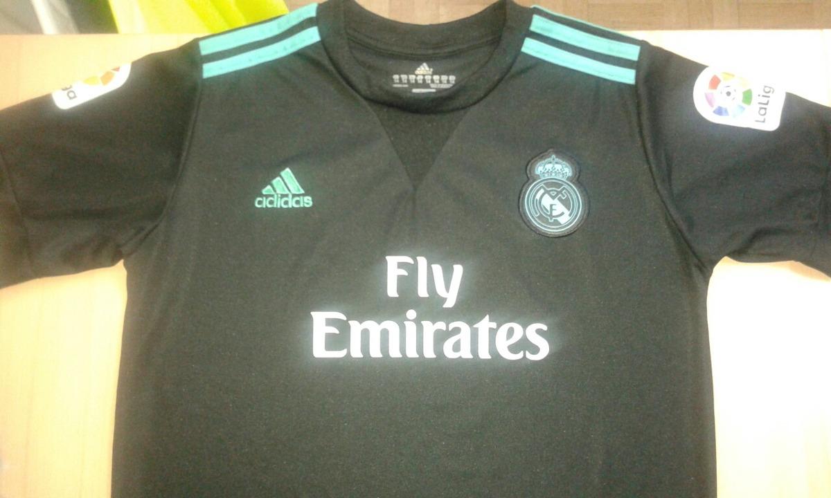 Camiseta Niño Del Real Madrid Negra   7 Ronaldo 88fab92251123