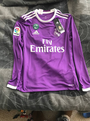 camiseta niños alterna real madrid temporada 2016-2017