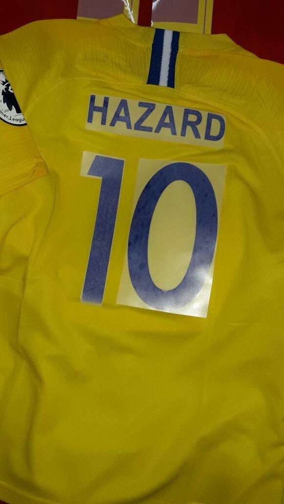 7ffc20cb17ebb Camiseta Niños Chelsea Hazard !!! -   749