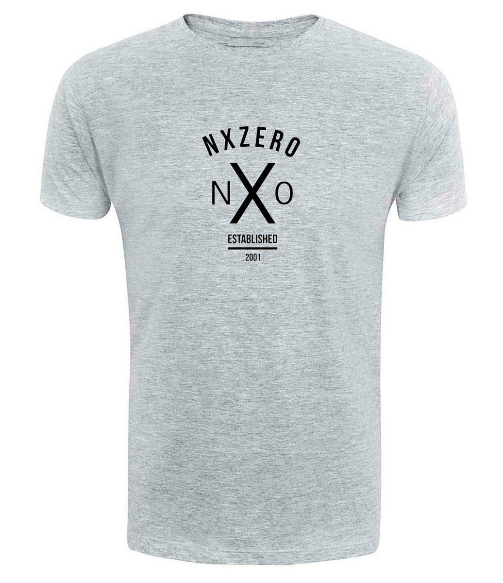 dbdf473de Camiseta Nx Zero - Cinza - Banda Rock Di Ferrero Ref1 - R  34