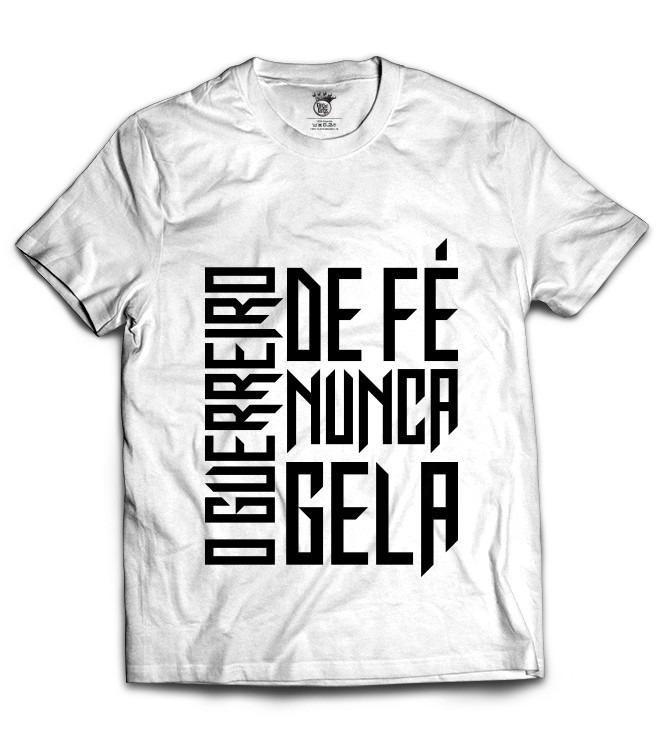 Camiseta O Guerreiro De Fé Nunca Gela R 5490 Em Mercado Livre