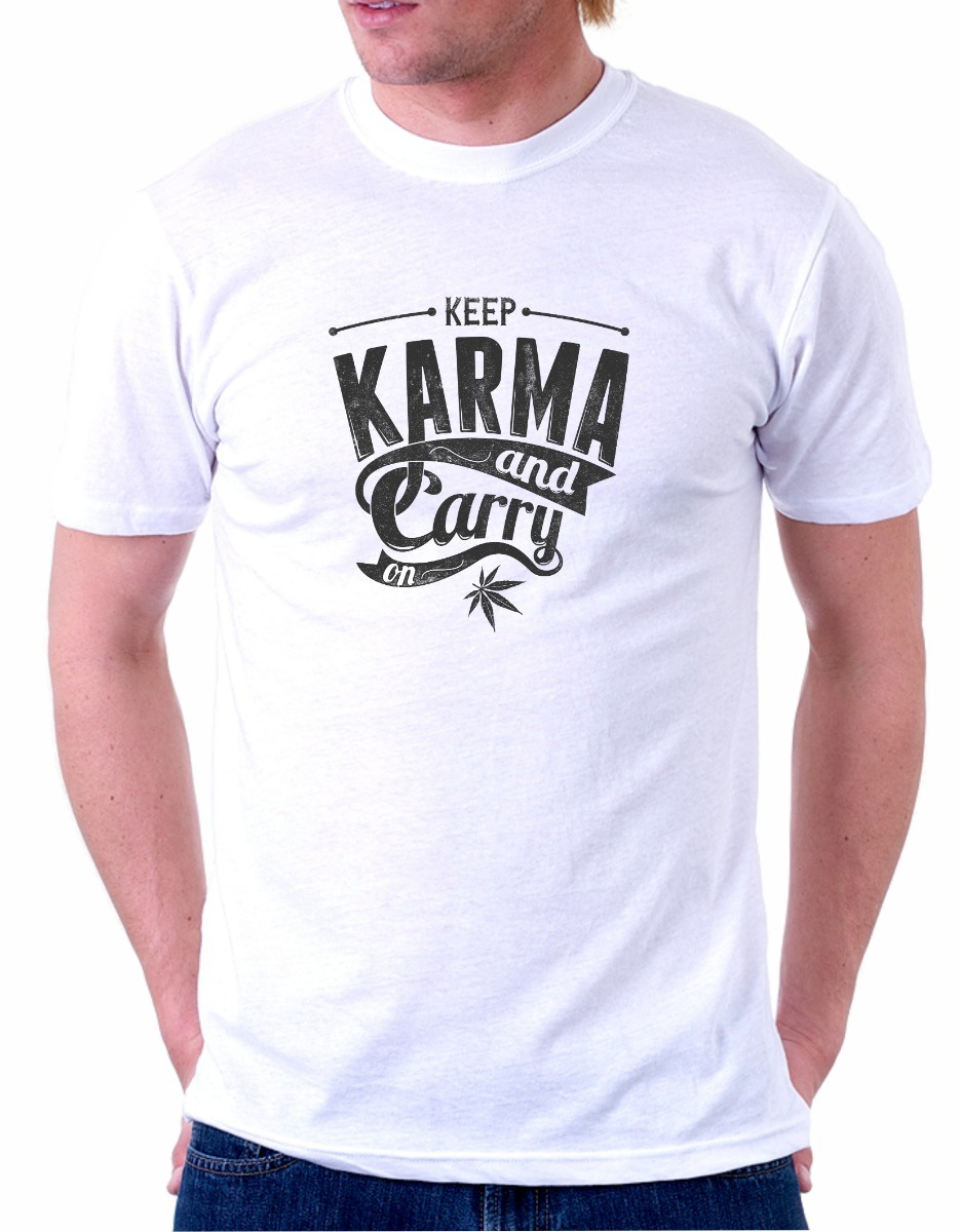 b0a98f6ec4 Camiseta Oak Custom Keep Karma - R  30