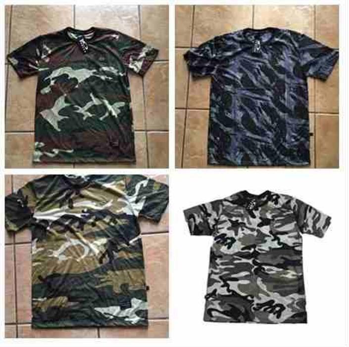 Camiseta Oakley Camuflada Exercito Blusa Camisa Masculino - R  29 700bd7a858c