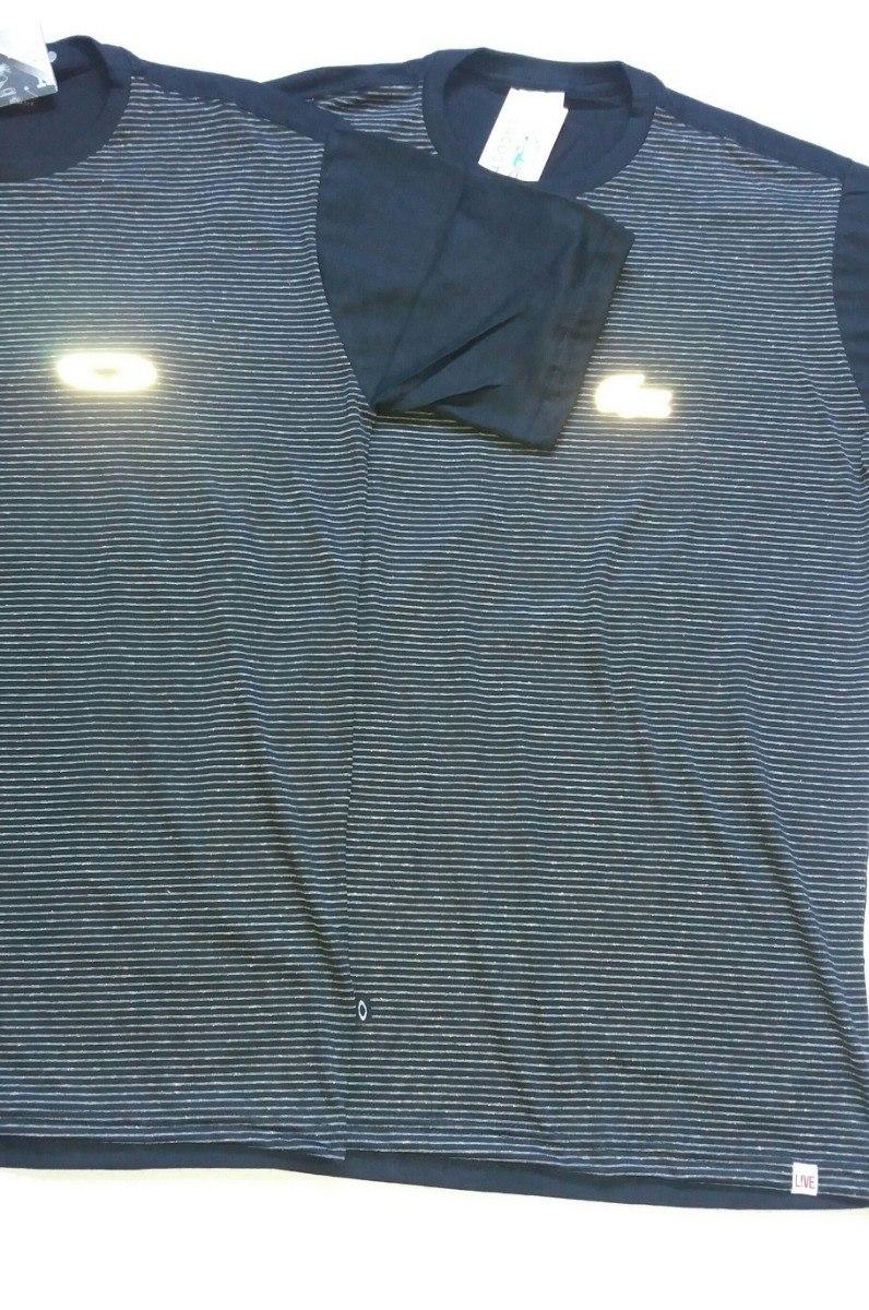 Camiseta Oakley Masculina +lacoste Camiseta Oakley Refletiva - R  39 ... af72193c3cd05