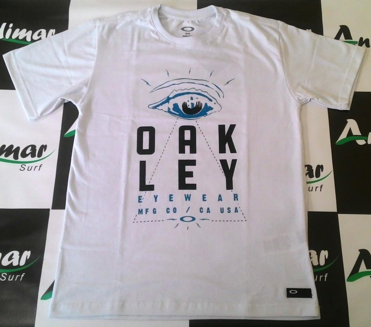 camiseta oakley original blusa camisa masculina branca estil. Carregando  zoom. 4b4e1ee565