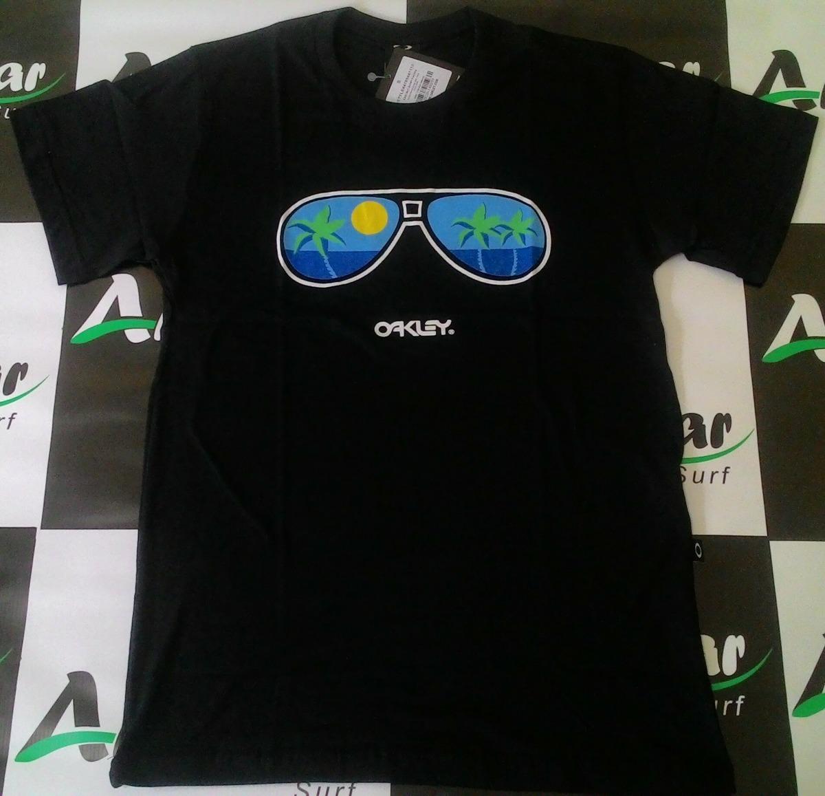 f793d9a16f0eb camiseta oakley original preta blusa camisa - andimar surf. Carregando zoom.