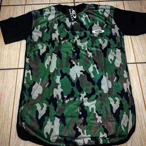Camiseta Oakley Preta Nova 2018 - R  65 5db8e5795c6