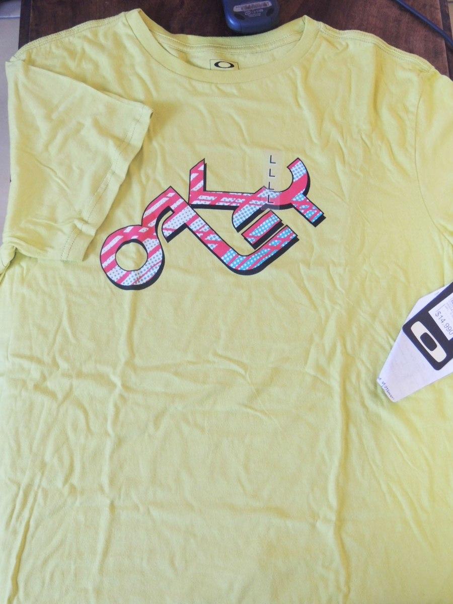 camiseta oakley retro 2.0 nova original com nota e etiqueta. Carregando  zoom. fe4500aa259