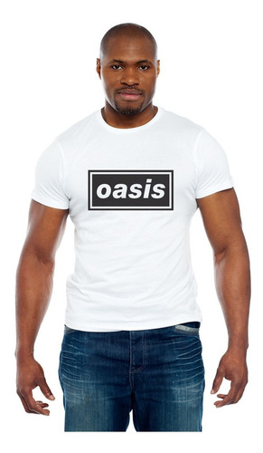 camiseta oasis - rock - noel gallagher - liam gallagher