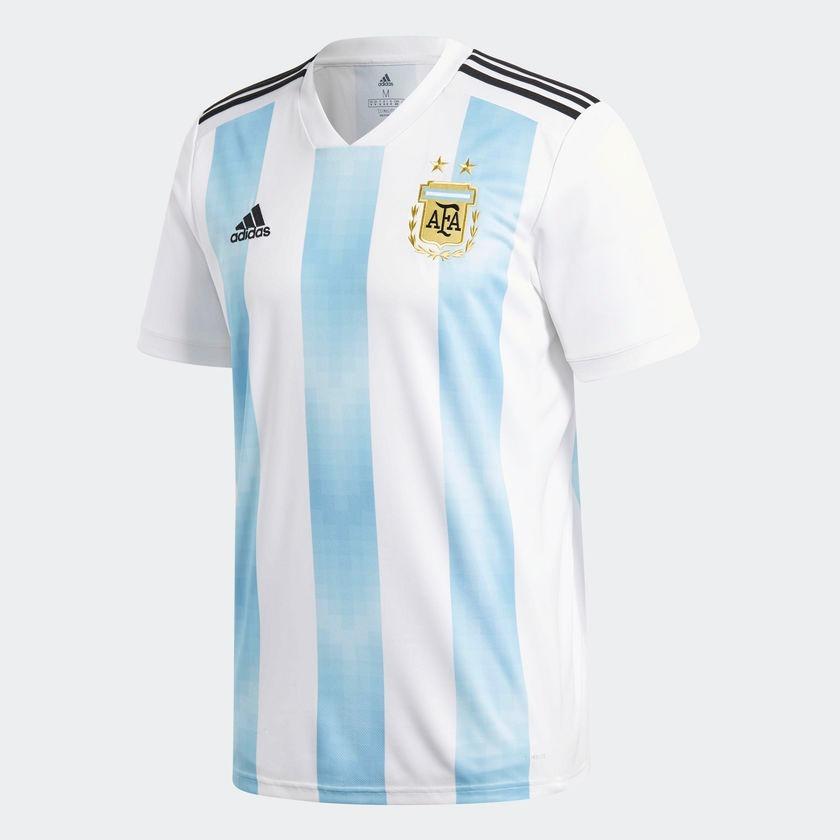 camiseta oficial argentina 2018 climalite. Cargando zoom. d15e26b537c81