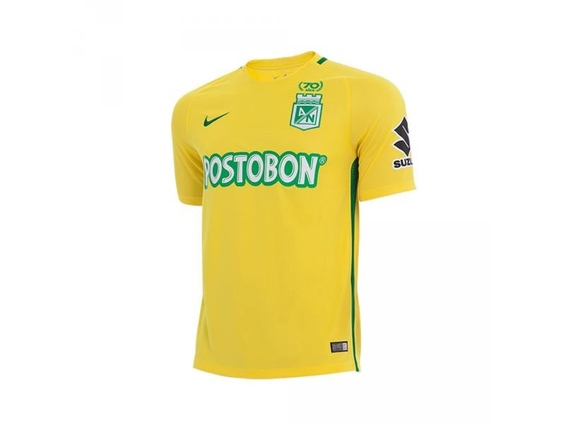 87d50d38b503c camiseta oficial atlético nacional alternativa 2017 nike +bo. Cargando zoom.