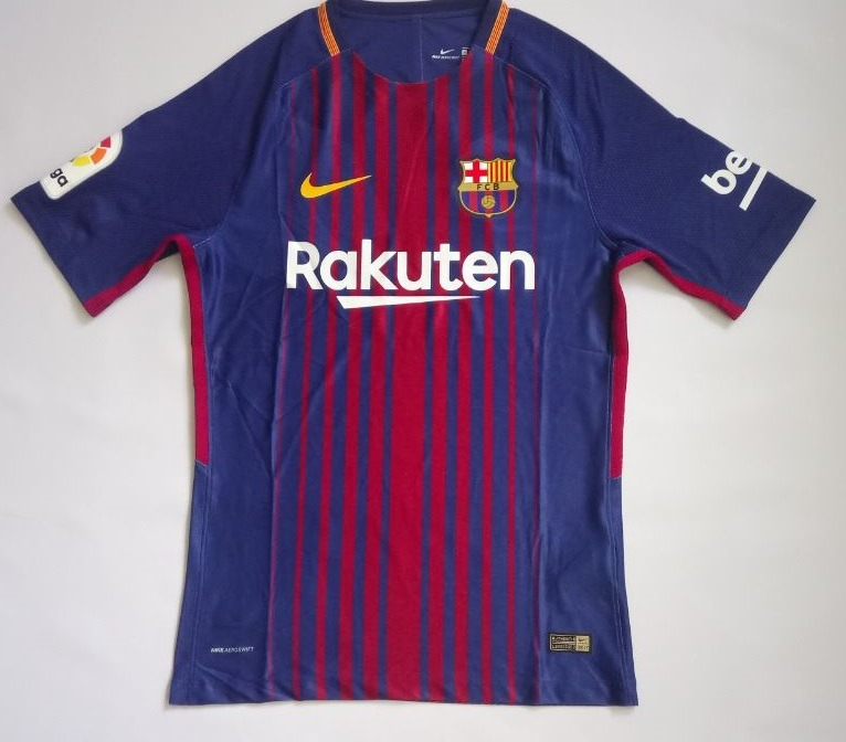 f4138235bd43e Camiseta Oficial Barcelona 2017 2018 Liga Bbva Aeroswift -   165.000 ...