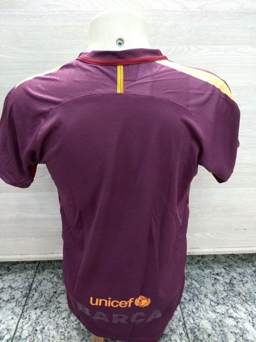 Camiseta Oficial De Jogo Barcelona 2018 (uniforme  1b4e548ad9384