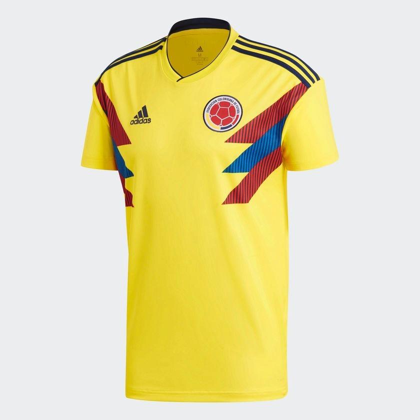 La De Selección Oficial Colombia Original Adidas Camiseta fqRF8xn