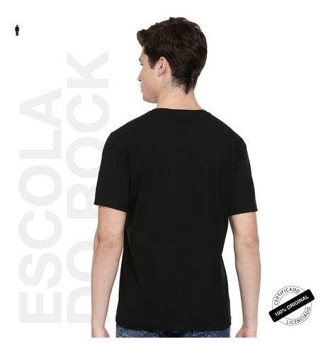 camiseta oficial escola do rock musical da broadway 2019