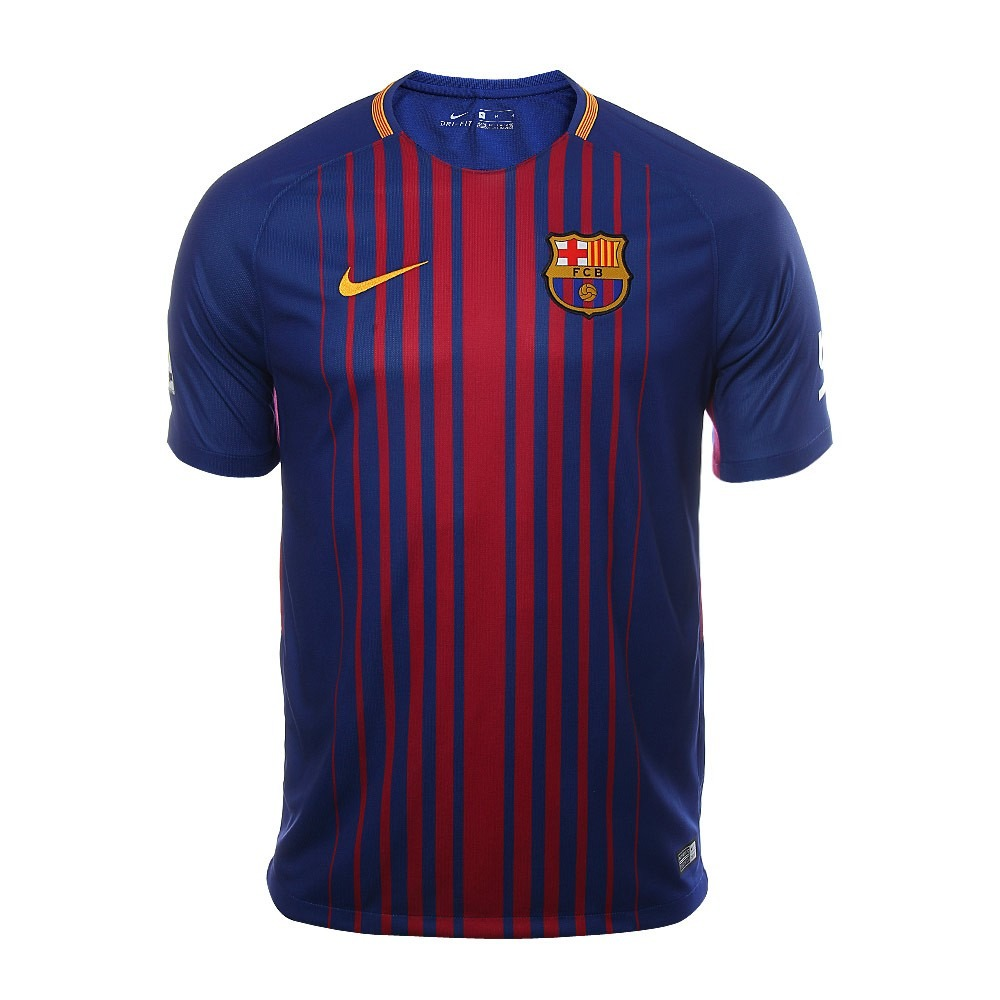 9f9ad5ab9bae2 Camiseta Oficial F.c Barcelona Local 17 18 Nike + Cupón -   149.900 ...