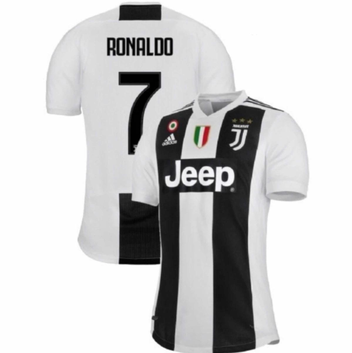 camiseta oficial juventus local 18 19 ronaldo cr7. Cargando zoom. aa74a6e97e667