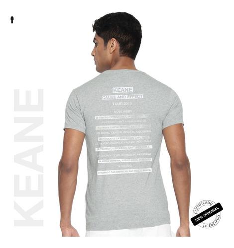 camiseta oficial keane cause and effect tour 2019