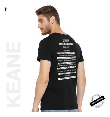 camiseta oficial keane flowers tour 2019