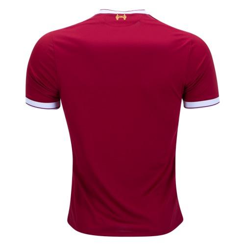 Camiseta Oficial Liverpool Local 2017 18 New Balance +bono ... 106d65c9643