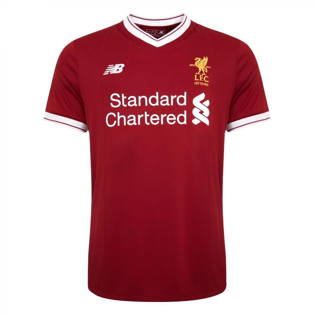 camiseta oficial liverpool local 2017 18 new balance +bono. Cargando zoom. 41cf94cfeb2