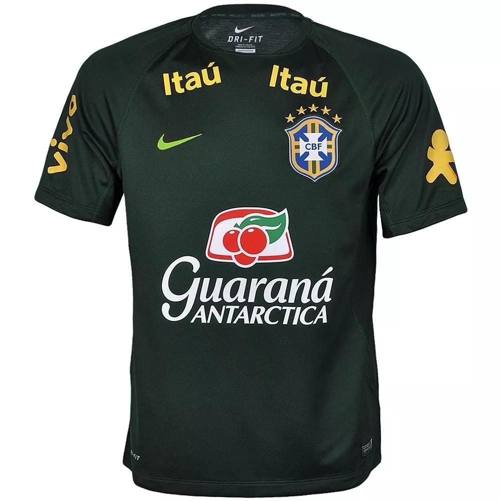 camiseta oficial nike brasil treino copa do mundo 2018. Carregando zoom. 1687485eb24e6