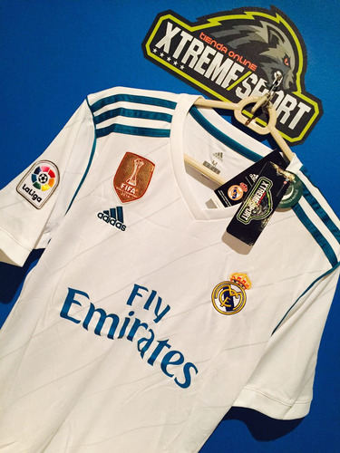 camiseta oficial real madrid 17/18 garantía hot sale